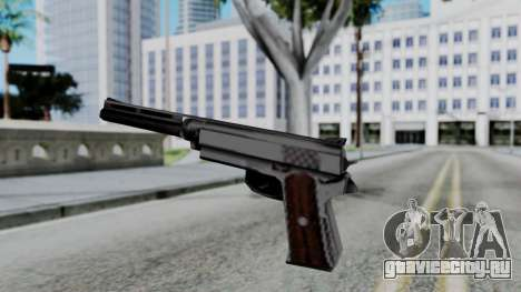 Vice City Beta Silver Colt 1911 для GTA San Andreas третий скриншот