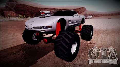 Chevrolet Corvette C5 Monster Truck для GTA San Andreas