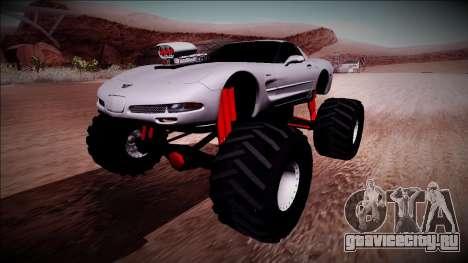 Chevrolet Corvette C5 Monster Truck для GTA San Andreas