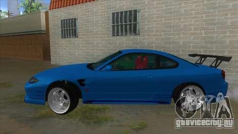 Nissan Silvia S15 326 Power для GTA San Andreas вид слева