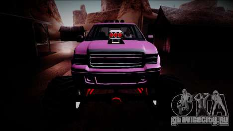 GTA 5 Vapid Sadler Monster Truck для GTA San Andreas вид сверху