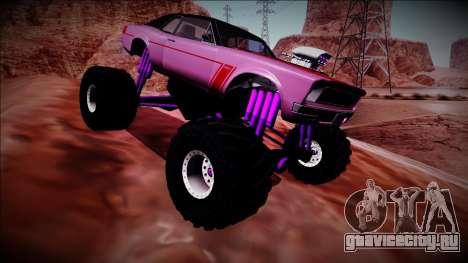 GTA 5 Declasse Tampa Monster Truck для GTA San Andreas вид сбоку