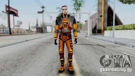 Gordon Freeman HEV SUIT from Half Life для GTA San Andreas второй скриншот