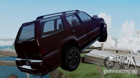 GTA 5 Albany Cavalcade v1 для GTA San Andreas вид слева