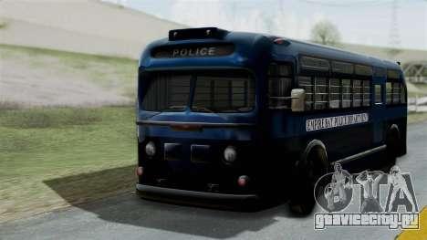 Parry Bus Police Bus 1949 - 1953 Mafia 2 для GTA San Andreas