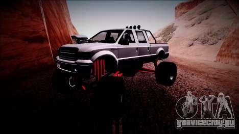 GTA 5 Vapid Sadler Monster Truck для GTA San Andreas вид слева