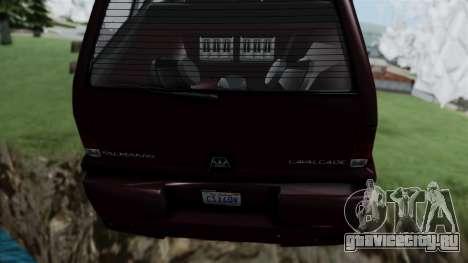 GTA 5 Albany Cavalcade v1 для GTA San Andreas вид справа