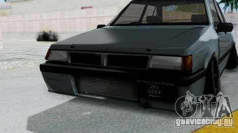 Proton Iswara Stance Build для GTA San Andreas вид сбоку