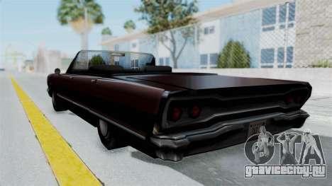 Дополненная Savanna для GTA San Andreas вид слева