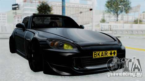 Honda S2000 Berlin Black для GTA San Andreas