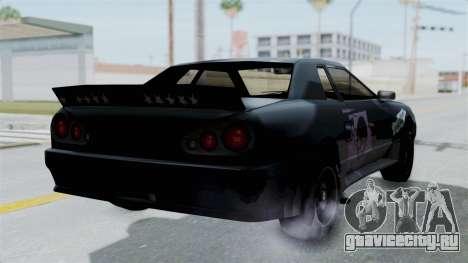 Hotring Elegy для GTA San Andreas вид слева