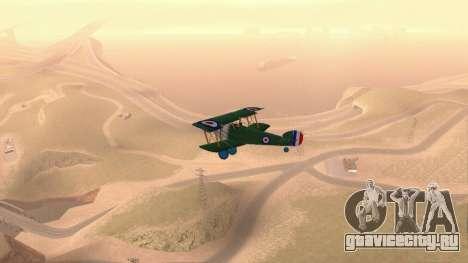 Сопвич Кэмел для GTA San Andreas вид справа