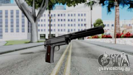 Vice City Beta Silver Colt 1911 для GTA San Andreas второй скриншот