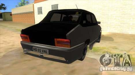 Dacia 1310 Tunata для GTA San Andreas вид сзади