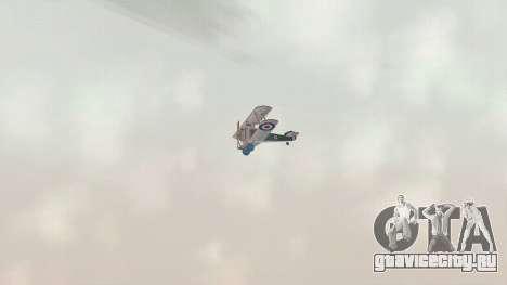 Сопвич Кэмел для GTA San Andreas вид сзади