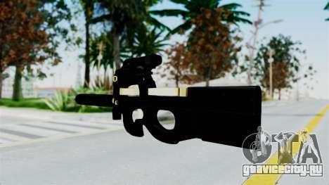 P90 Gold Silenced для GTA San Andreas второй скриншот