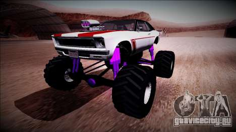 GTA 5 Declasse Tampa Monster Truck для GTA San Andreas