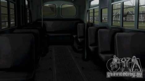 Parry Bus Police Bus 1949 - 1953 Mafia 2 для GTA San Andreas вид справа