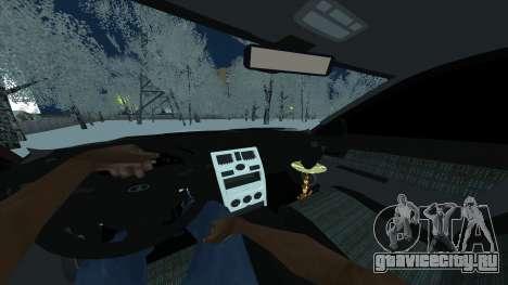 Ваз 2170 Седан для GTA San Andreas вид сзади слева