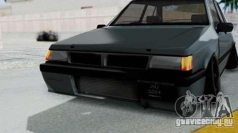 Proton Iswara Stance Build для GTA San Andreas вид сверху