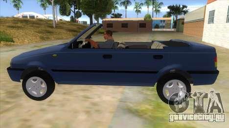 Dacia SuperNova для GTA San Andreas вид слева