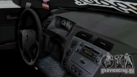 Honda Civic Vtec Special для GTA San Andreas вид справа
