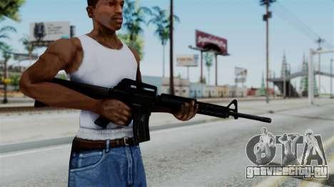 No More Room in Hell - M16A4 Carryhandle для GTA San Andreas третий скриншот