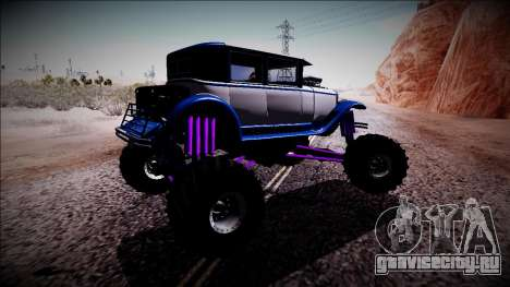 GTA 5 Albany Roosevelt Monster Truck для GTA San Andreas вид справа