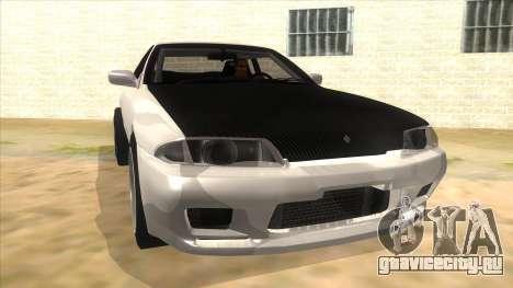 Nissan Skyline R32 Drag для GTA San Andreas вид сзади