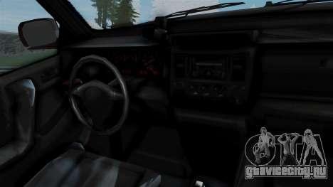 GTA 5 Albany Cavalcade v1 для GTA San Andreas вид сзади слева