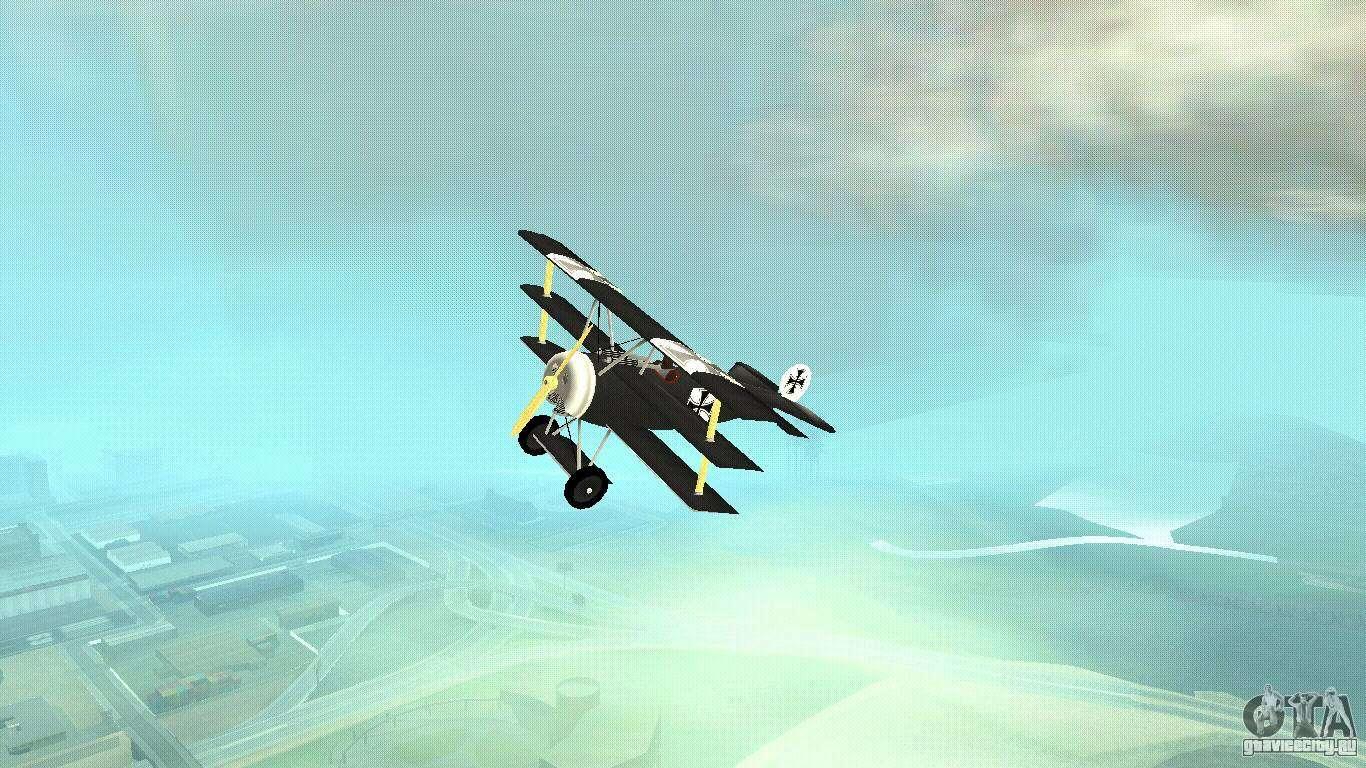 Обои сил, триплан, Fokker dr.1, военно-воздушных, истребитель. Авиация foto 16
