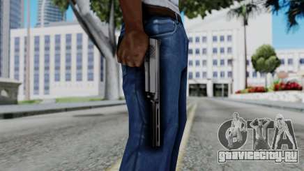 Vice City Beta Silver Colt 1911 для GTA San Andreas