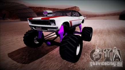 GTA 5 Declasse Tampa Monster Truck для GTA San Andreas