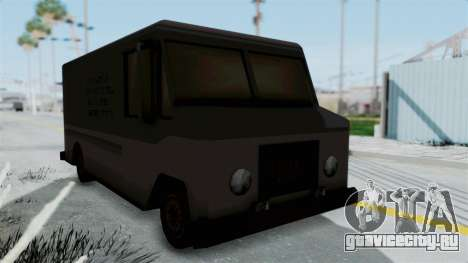 Boxville from Manhunt для GTA San Andreas вид справа