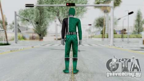 Power Rangers S.P.D - Green для GTA San Andreas третий скриншот