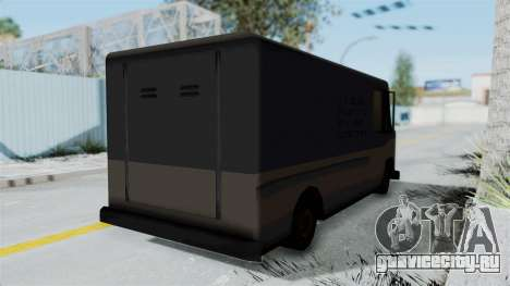 Boxville from Manhunt для GTA San Andreas вид сзади слева