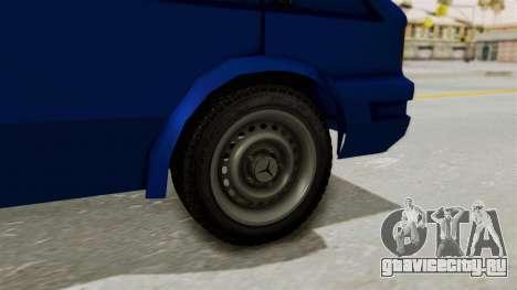 Zastava Rival Ice Cream Truck для GTA San Andreas вид сзади слева