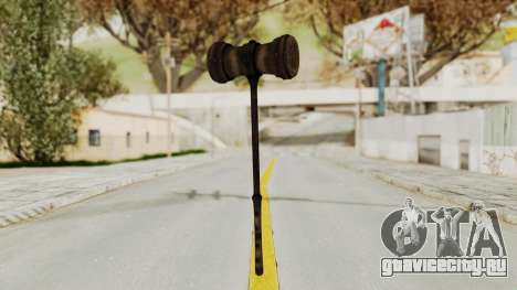 Skyrim Iron Warhammer для GTA San Andreas
