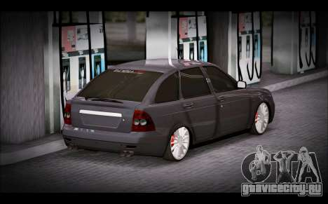 Lada Priora Bpan Version для GTA San Andreas вид слева