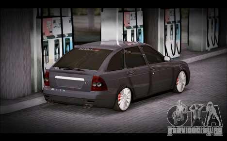 Lada Priora Bpan Version для GTA San Andreas вид слева