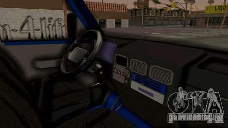 Zastava Rival Ice Cream Truck для GTA San Andreas вид справа
