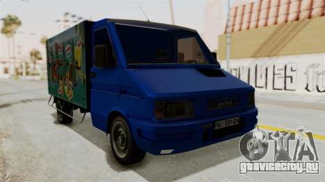 Zastava Rival Ice Cream Truck для GTA San Andreas
