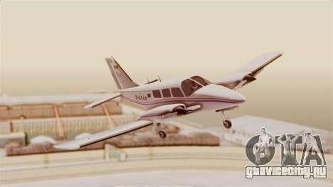 Piper Seneca II для GTA San Andreas вид сзади слева