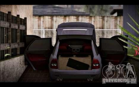 Lada Priora Bpan Version для GTA San Andreas вид сзади