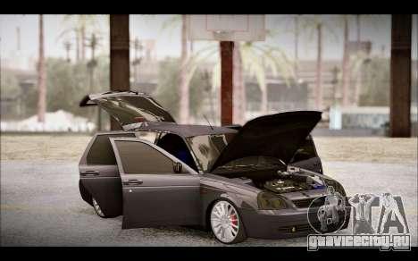 Lada Priora Bpan Version для GTA San Andreas вид сверху
