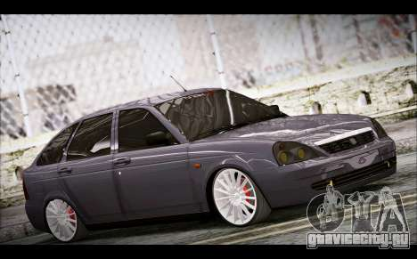 Lada Priora Bpan Version для GTA San Andreas