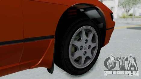 Nissan Sileighty - Stock для GTA San Andreas вид сзади слева