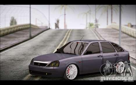 Lada Priora Bpan Version для GTA San Andreas вид справа