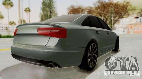 Audi A6 для GTA San Andreas вид сзади слева