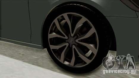 Audi A6 для GTA San Andreas вид сзади
